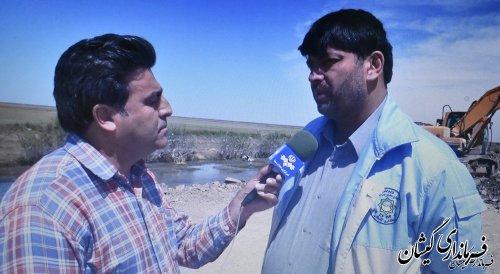 تاکنون390میلیاردتومان به بخش کشاورزی شهرستان گمیشان خسارت واردشده است