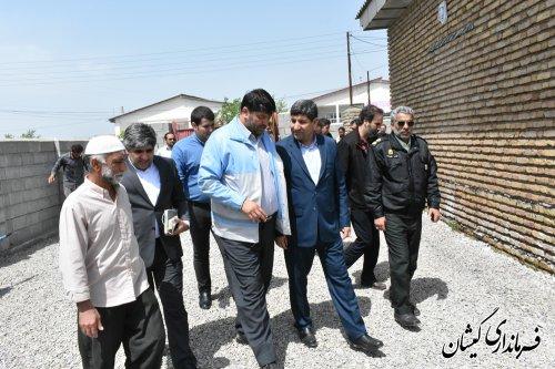 دیدارمدیرعامل خبرگزاری ایرناباخانواده شهیدخدمت سلیم صوفیانی