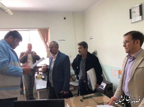 بازدید فرماندار گمیشان از جهاد کشاورزی شهرستان