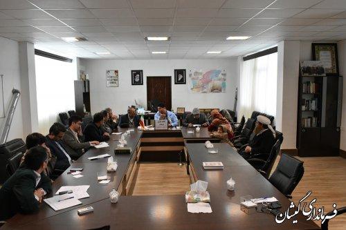 اولین ملاقات عمومی فرماندار گمیشان با مردم شهرستان برگزار شد