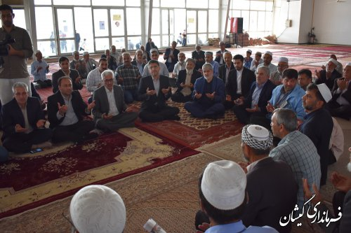 نائب رئیس مجلس در مراسم اربعین شهدای خدمت حضور یافت