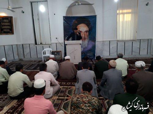 مراسم ارتحال امام(ره) و قیام 15خرداد در شهرستان گمیشان برگزار شد