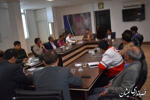جلسه هماهنگی مدیریت مصرف برق شهرستان گمیشان برگزار شد