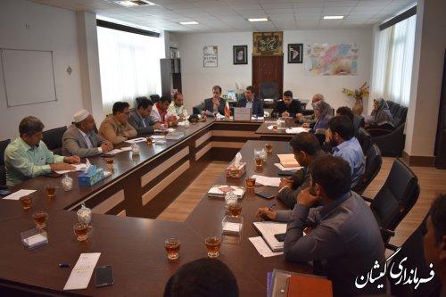 جلسه شورای هماهنگی مبارزه با مواد مخدر شهرستان برگزار شد