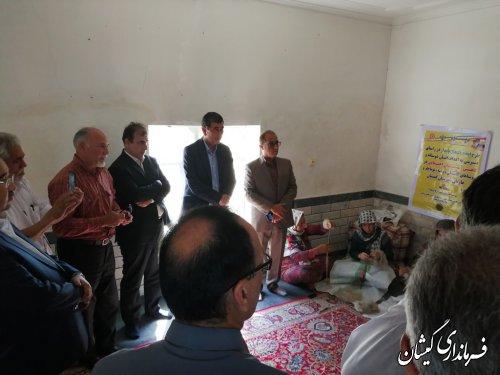 سرپرست فرماندار از طرح ایجاد اشتغال پایدار بازدید کرد