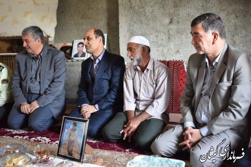 """اولین حضور"""" هادی حق شناس"""" استاندار گلستان به شهرستان گمیشان"""