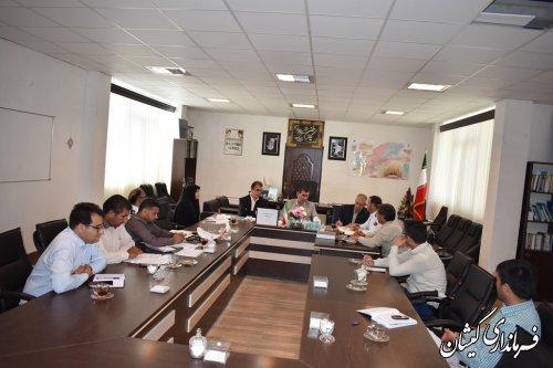 دومین جلسه شورای هماهنگی ترافیک شهرستان گمیشان برگزار شد