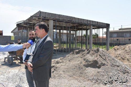عملیات عمرانی 100%واحدهای مسکونی  که درمرحله اول بعنوان واحدهای تعمیری ثبت سامانه شده بود به اتمام رسید