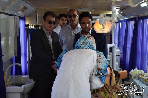 استقرار تیم جهادی سلامت دانشگاه آزاد اسلامی در شهرستان گمیشان
