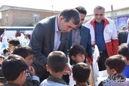 """پویش """"با مهر تا مهر"""" برای کمک به کودکان سیلزده #گمیشان"""