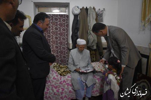 افتتاح دهمین مرکز روزانه آموزشی و توانبخشی سالمندان استان در گمیشان
