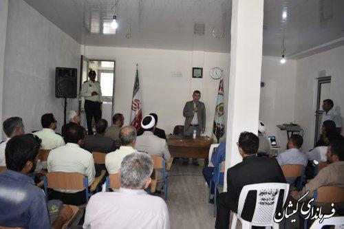 افتتاح ساختمان پلیس راهور شهرستان گمیشان