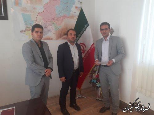 اولین نشست هماهنگی اعضای هیات بازرسی انتخابات شهرستان با فرماندارگمیشان