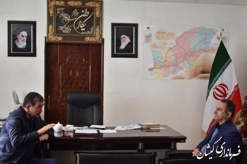 دبیرستاد انتخابات استان با فرماندار شهرستان دیدار کرد