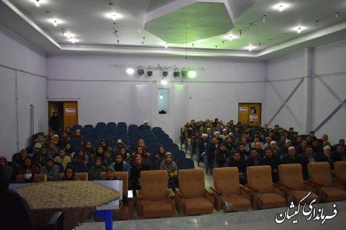 آموزش مجریان انتخابات در گمیشان برگزار شد