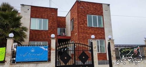 افتتاح ساختمان اداری کمیته امداد امام خمینی (ره) شهرستان گمیشان با اعتباری بالغ بر 23 میلیارد ریال