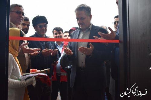افتتاح 277 مین واحد مسکونی احداثی ناشی از سیل در گمیشان