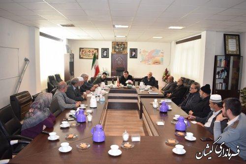 جلسه هماهنگی هیات اجرایی انتخابات شهرستان گمیشان برگزار شد