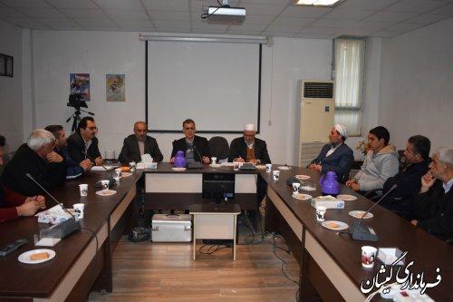 جلسه توجیهی مسئولین ستادهای تبلیغاتی نامزدهای انتخاباتی در شهرستان برگزارشد