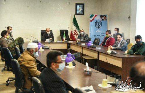 دیدار استاندار گلستان با خانواده شهدای خدمت سیل استان