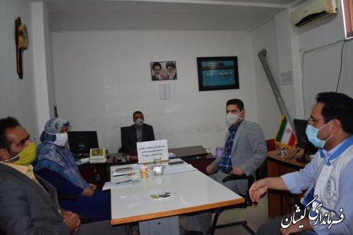 اولین نشست هماهنگی اعضای هیات بازرسی انتخابات شهرستان