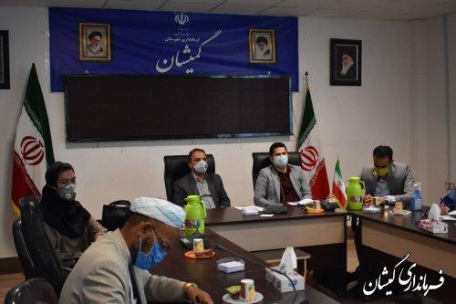 دومین جلسه هماهنگی هیات بازرسی بر انتخابات شهرستان گمیشان برگزار شد