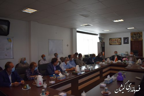 جلسه آموزشی نمایندگان فرماندار شعب اخذ رای گمیشان