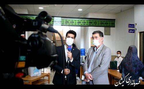 در ارتباط مستقیم تصویری با شبکه سراسری شما و شبکه استانی گلستان: