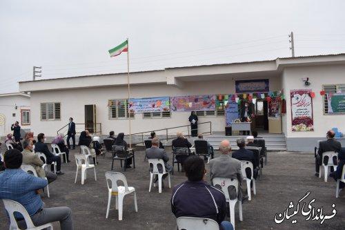 افتتاح و بهره برداری دبستان شهدای بصیر آباد با اعتبار 9 میلیارد ریال