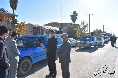 فرماندار شهرستان: اهدای22 سری جهیزیه به نوعروسان گمیشانی