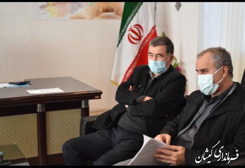 دیدار معاون سیاسی و اجتماعی استاندار گلستان با فرماندار گمیشان