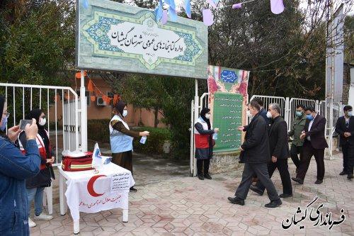 آیین متمرکز افتتاح وکلنگ زنی194پروژه دهه فجرگمیشان برگزار شد