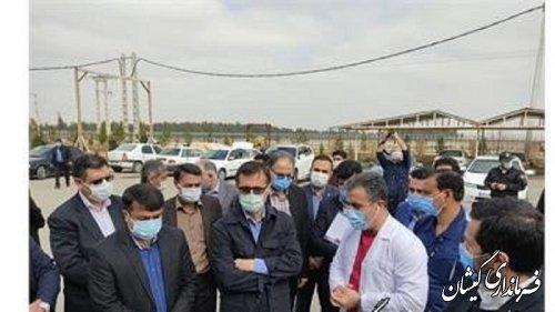 بازدید معاون وزیر تعاون از شرکت کاغذ پرشیا گلستان