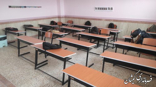 ۲۰ مدرسه در سطح شهرستان گمیشان در حال ساخت می باشد