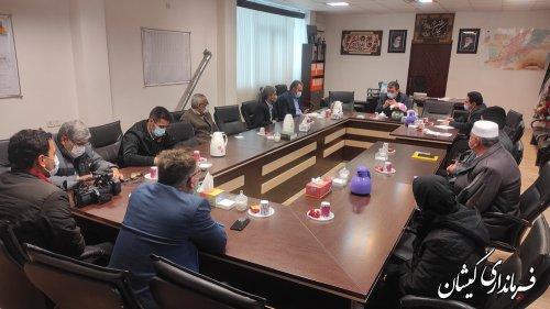 جلسه مجمع سلامت شهرستان گمیشان برگزار شد