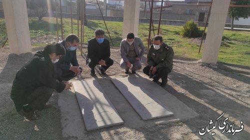 نشست هماهنگی بررسی وضعیت المان شهدای گمنام گمیشان برگزار شد