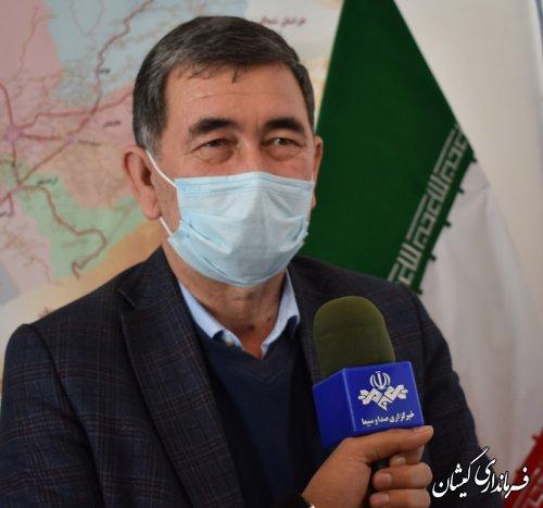 نام نویسی 4نفر بعنوان داوطلب شورای اسلامی شهر در شهرستان گمیشان