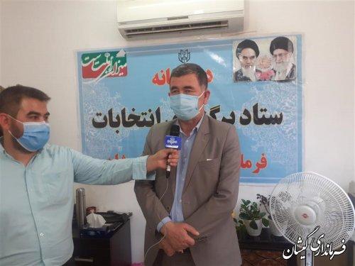 تاکنون28مرحله ازفرآیند انتخابات شوراهای شهر وروستا درسطح شهرستان اجرا شده است