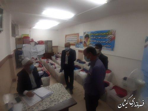 ارسال صندوق اخذ رای به همراه تعرفه ها به محل شعبات