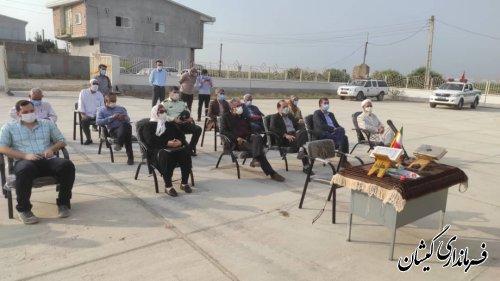 افتتاح وآغازعملیات اجرایی۲۵۰ پروژه عمرانی واقتصادی هفته دولت گمیشان