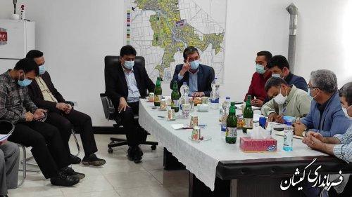 جلسه هماهنگی بررسی وضعیت آب شرب سیمین شهر